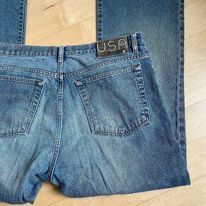 John Varvatos USA jeans bootcut 36 blue bootcut